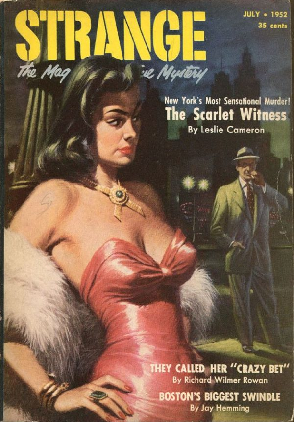 STRANGE, the Magazine of True Mystery - July 1952