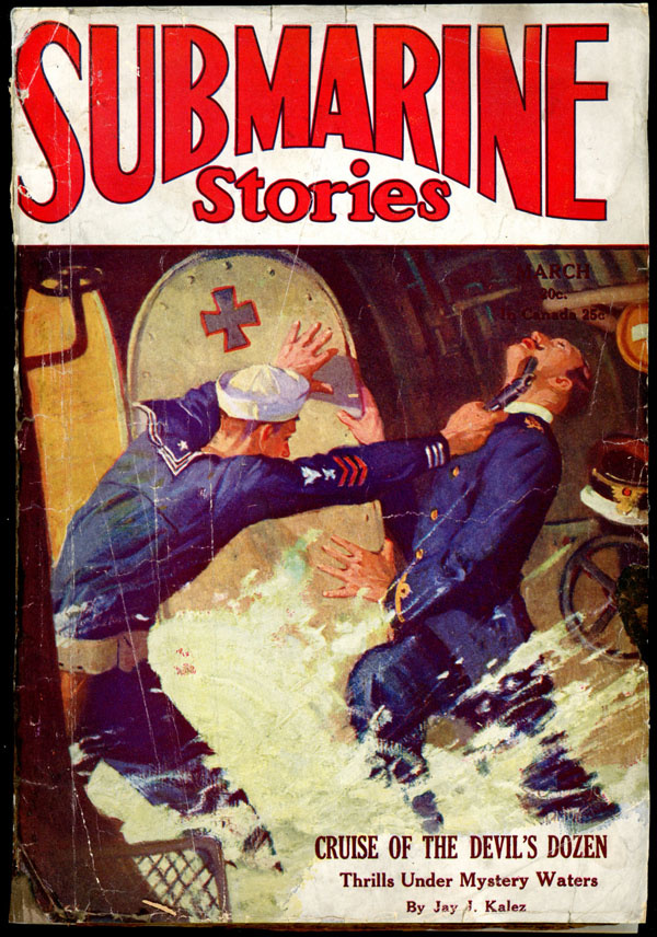 SUBMARINE STORIES. March, 1930