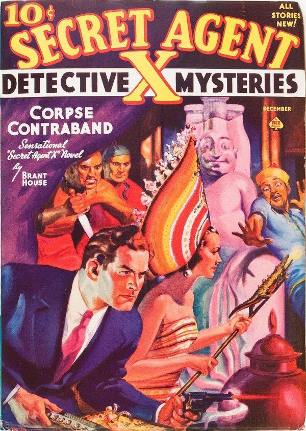 Secret Agent X - December 1938