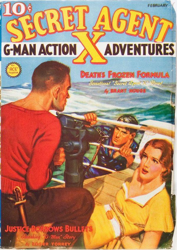Secret Agent X - February 1937