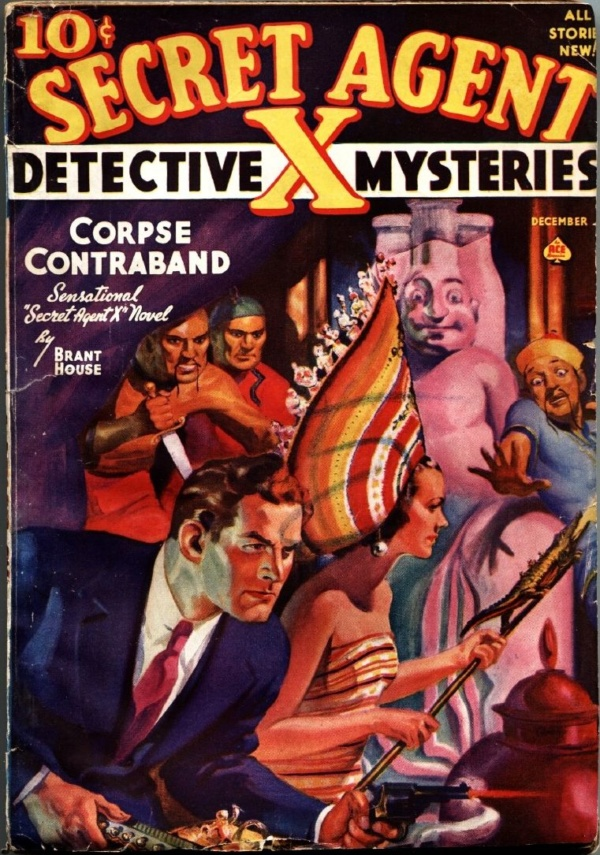 Secret Agent X Magazine December 1938