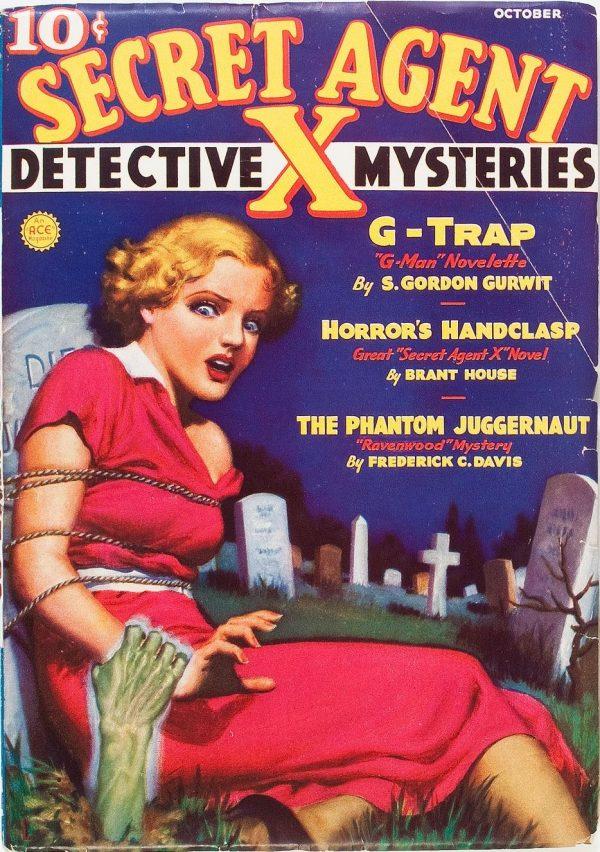 Secret Agent X - October 1936