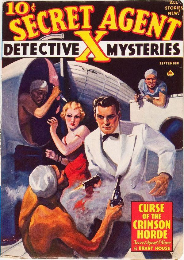 Secret Agent X - September 1938