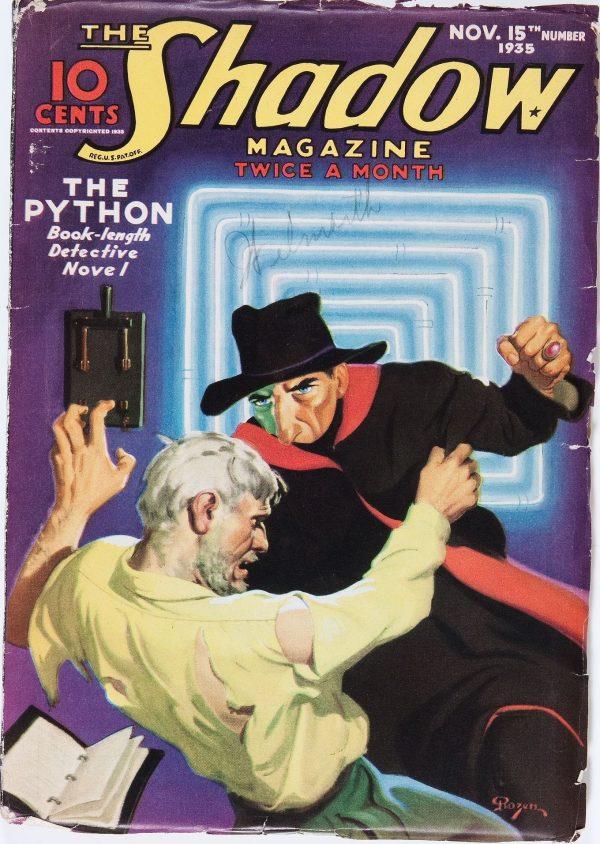 Shadow November 15th 1935