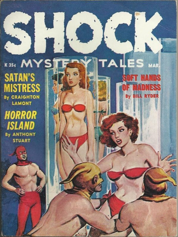 Shock Mystery Tales March 1962