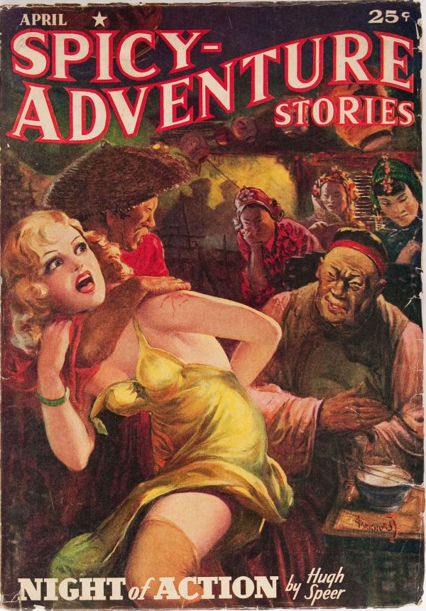 Spicy Adventure Stories - April 1940