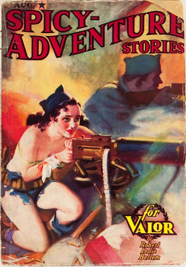 Spicy Adventure Stories - August 1937