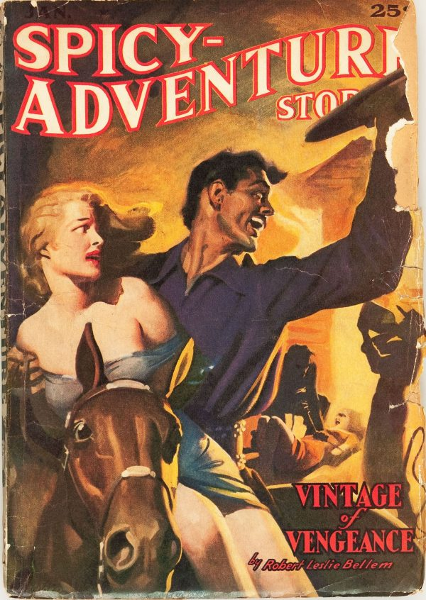 Spicy Adventure Stories - January 1940