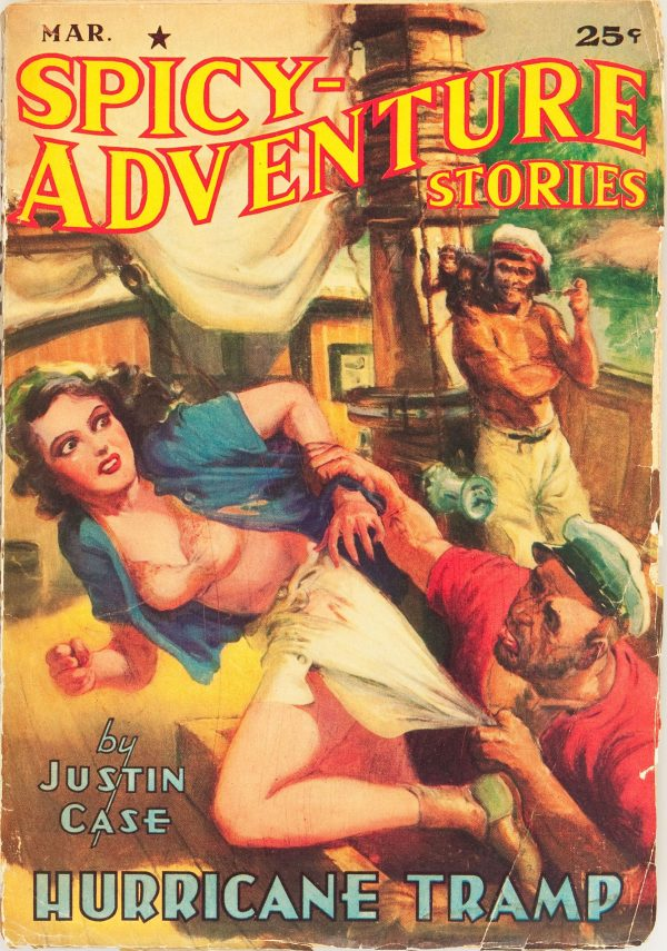 Spicy Adventure Stories - March 1941