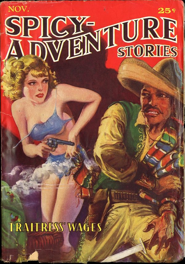 Spicy-Adventure Stories - Nov 1935
