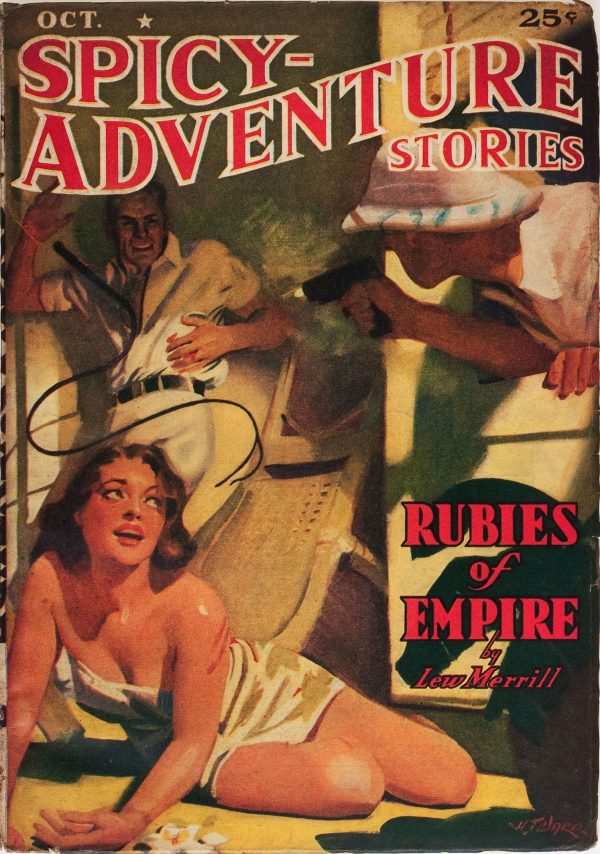 Spicy Adventure Stories - October 1939