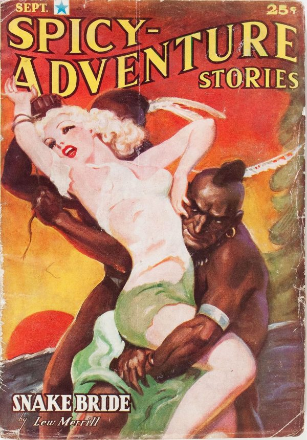 Spicy Adventure Stories - September 1937