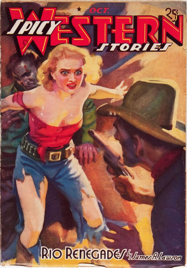 Spicy Western Stories - October 1938