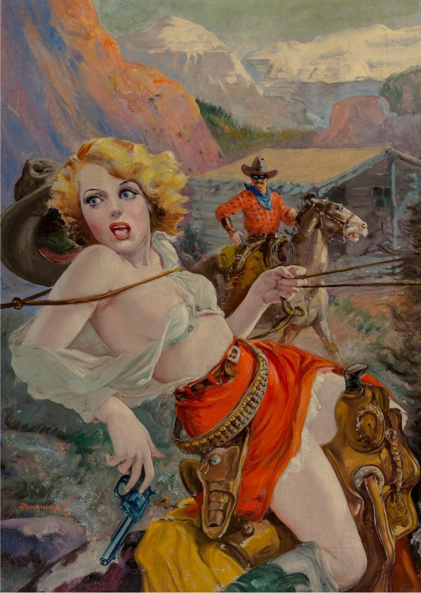Spicy Western Stories cover, June 1937