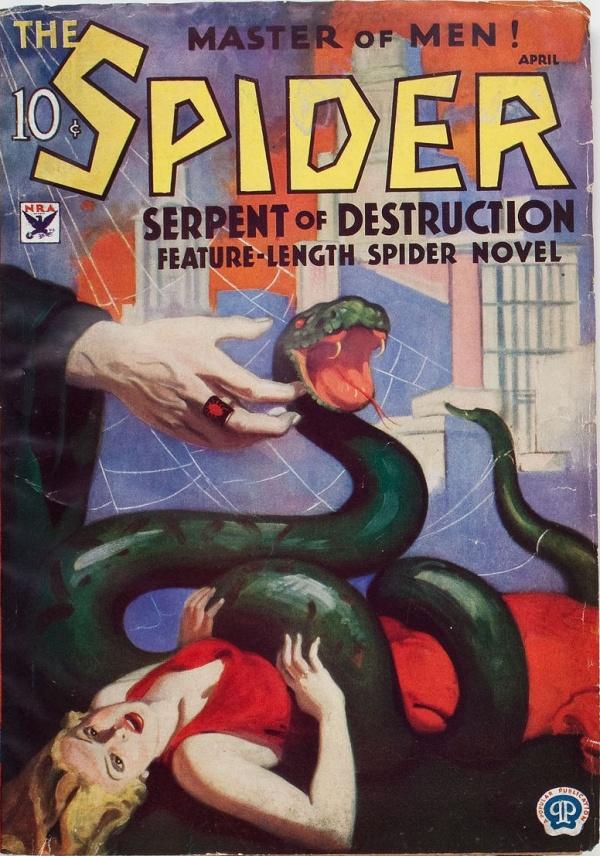 Spider - April 1934