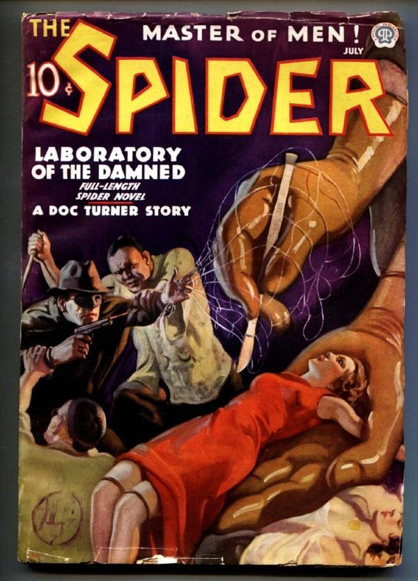 Spider July 1936