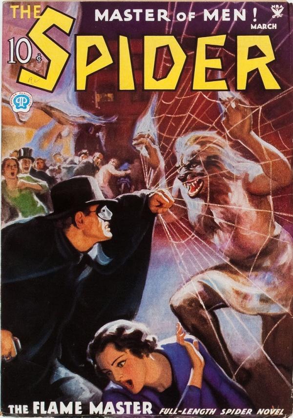 Spider - March 1935