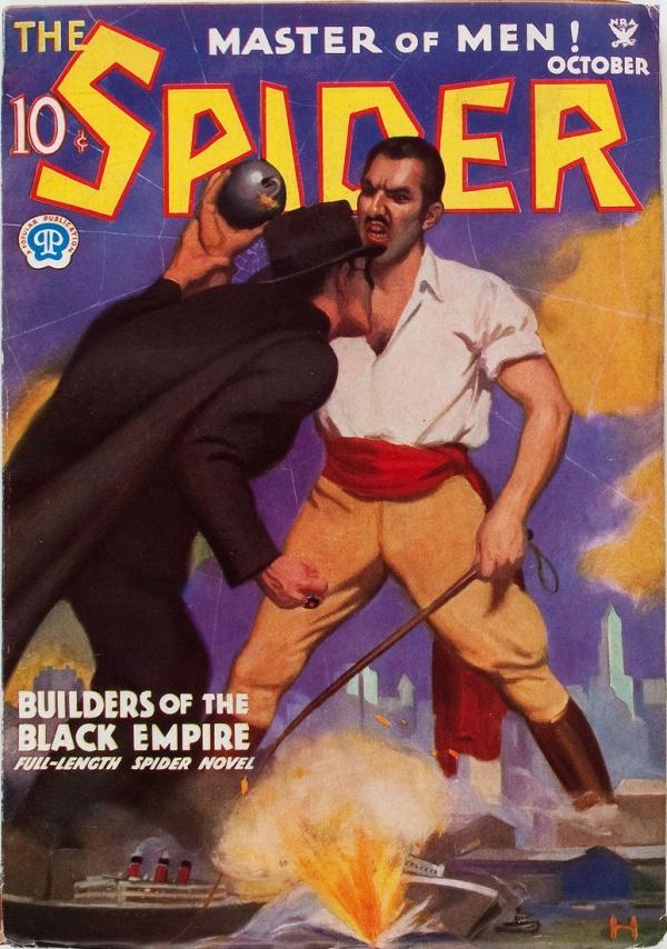 Spider - October 1934