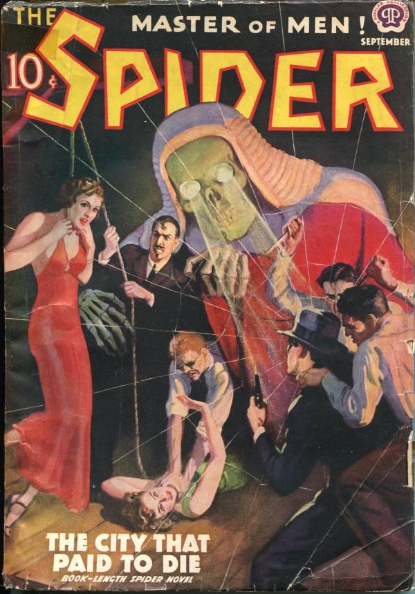 Spider September 1938