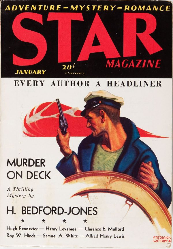 Star Magazine January, 1931