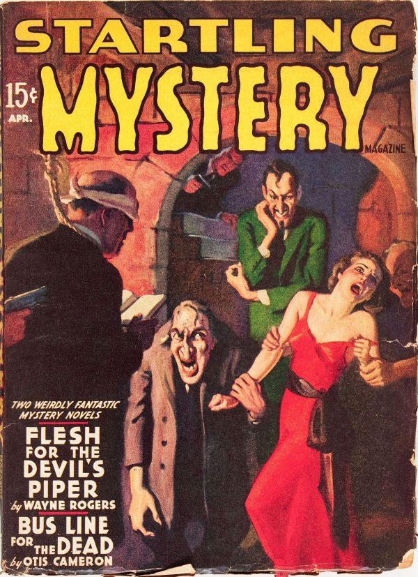 Startling Mystery Magazine - April 1940