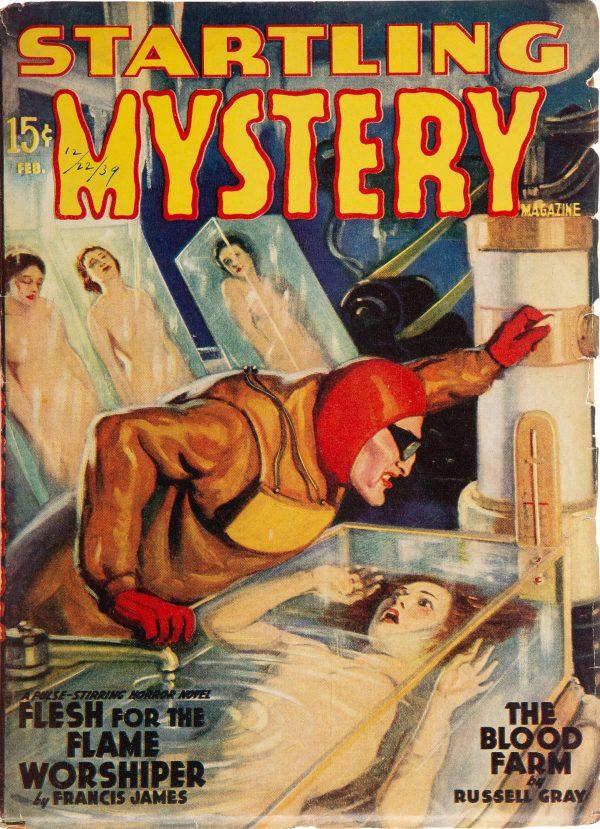 Startling Mystery Magazine - February 1940
