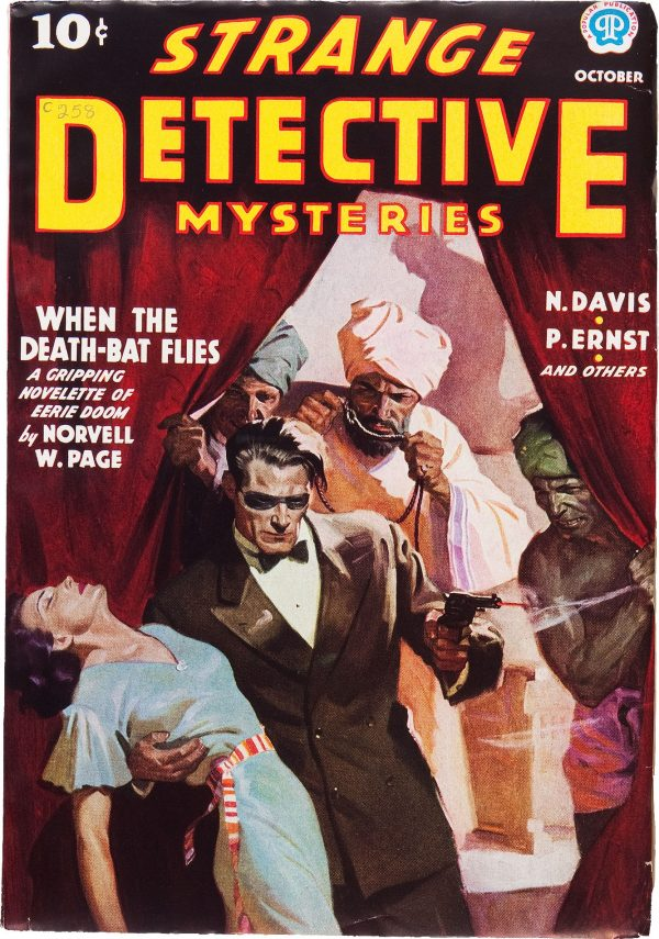 Strange Detective Mysteries V1#1 October 1937