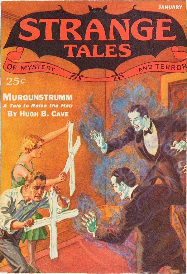 Strange Tales January 1933