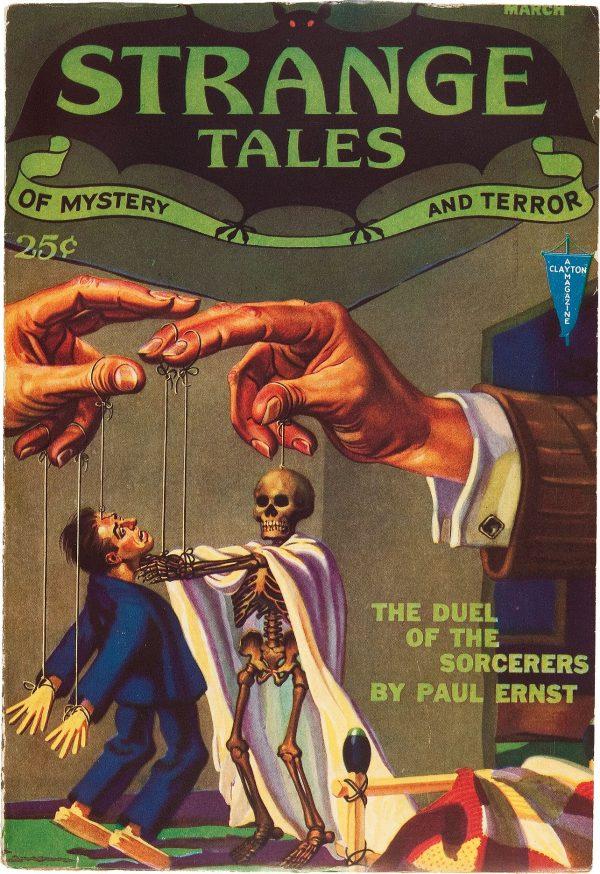 Strange Tales March 1932