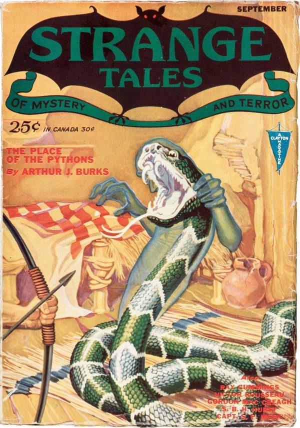 Strange Tales - September 1931
