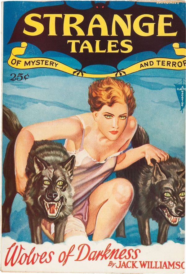 Strange Tales of Mystery and Terror, January 1932