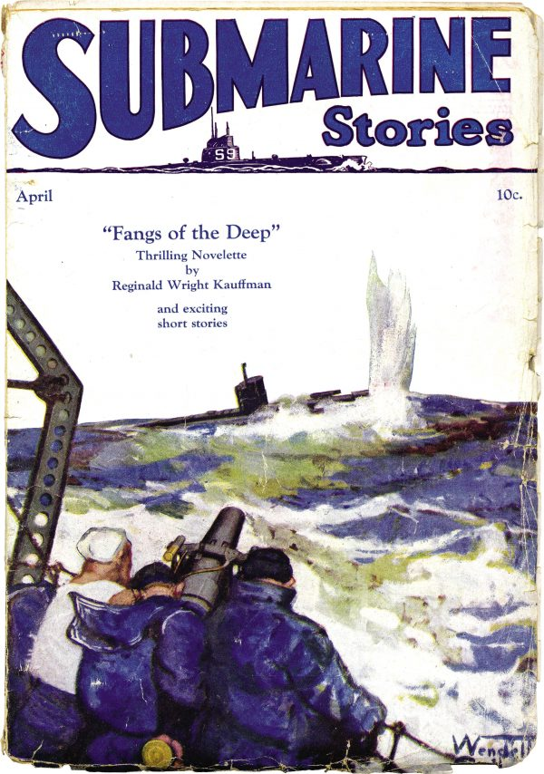 Submarine Stories April 1929