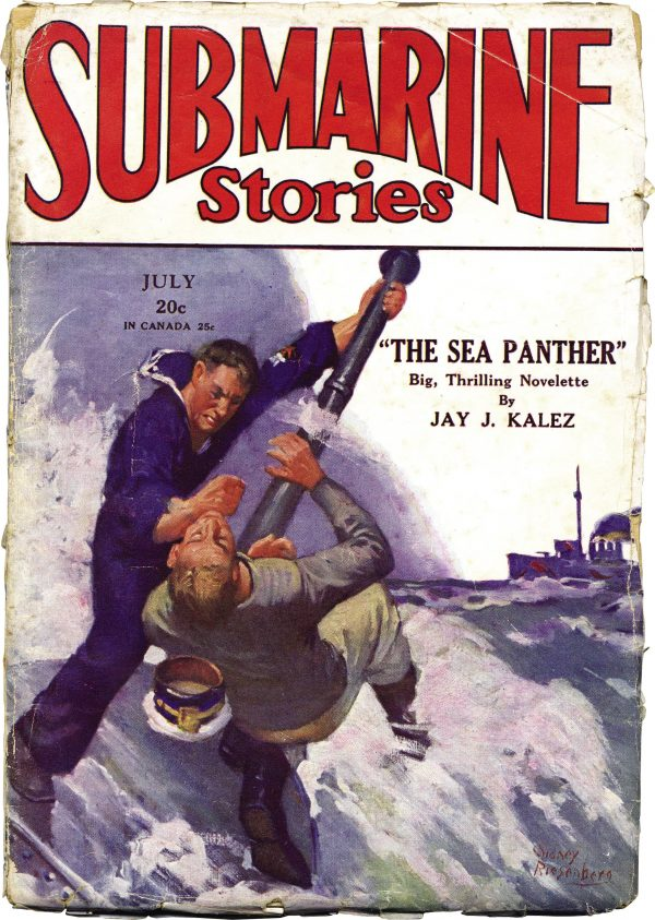 Submarine Stories July 1930