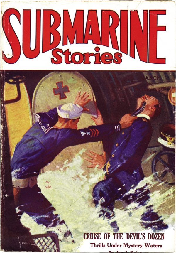 Submarine Stories March 1930
