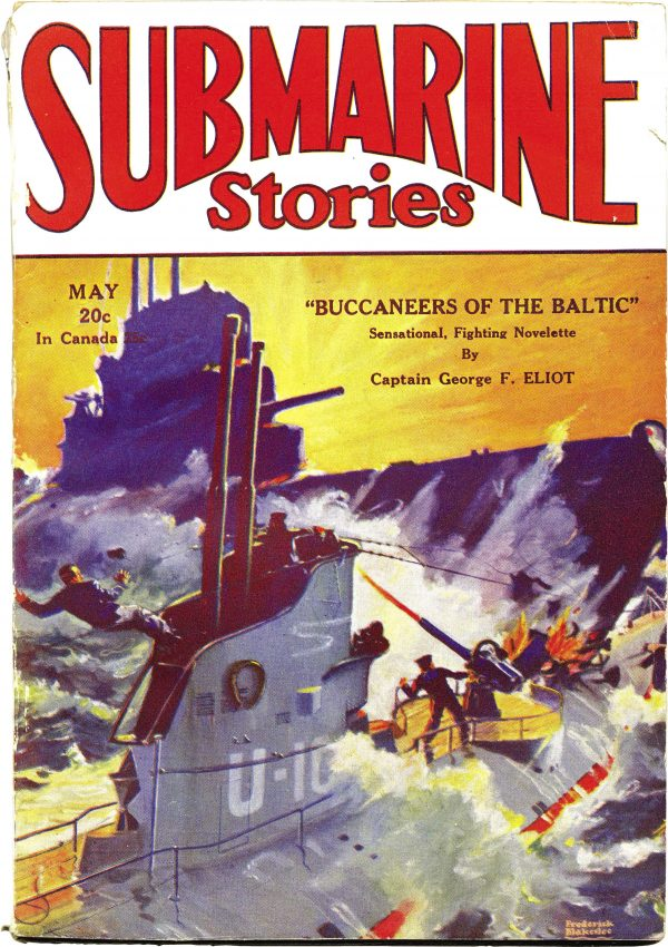 Submarine Stories May 1930