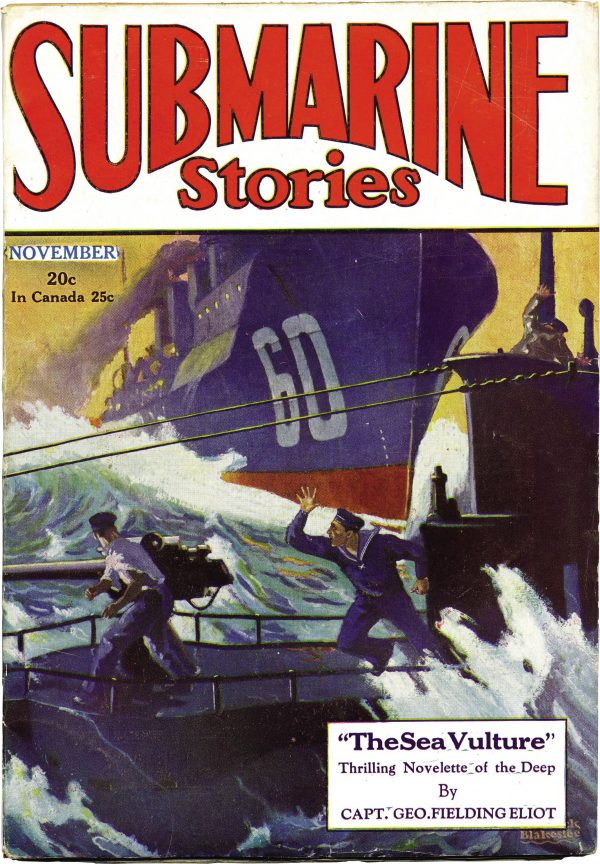 Submarine Stories November 1929