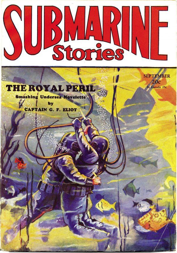 Submarine Stories September 1930