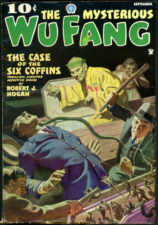 THE MYSTERIOUS WU FANG. September 1935