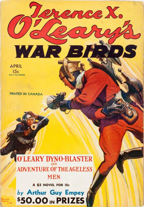 Terence X. O'Leary's War Birds - April 1935 Canadian