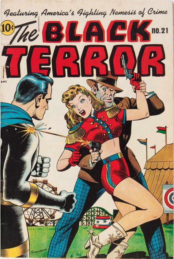 The Black Terror #21
