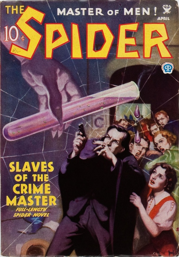 The Spider - April 1935