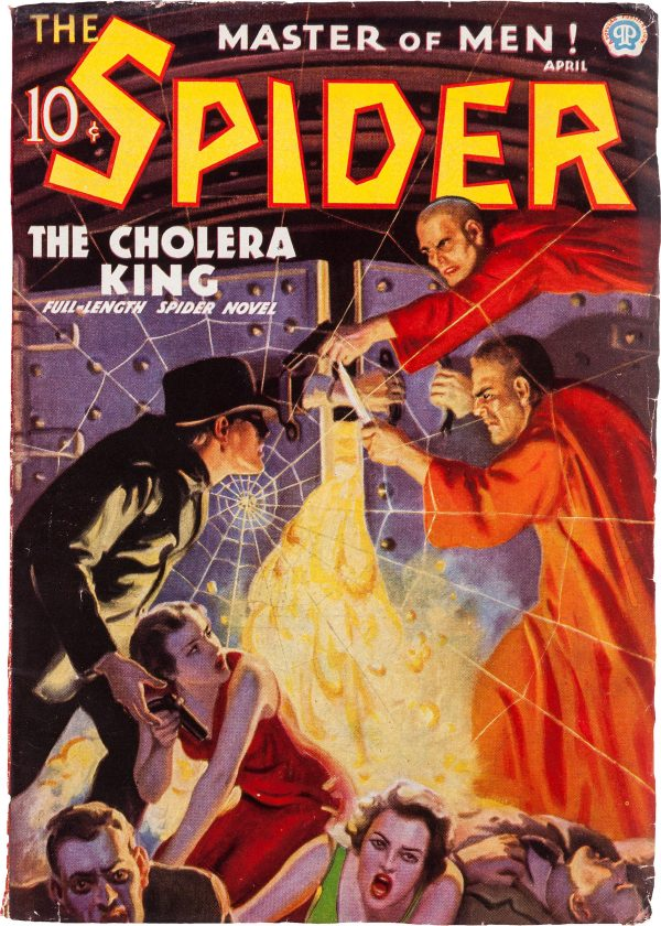 The Spider April 1936
