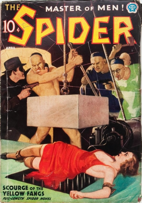 The Spider - April 1937