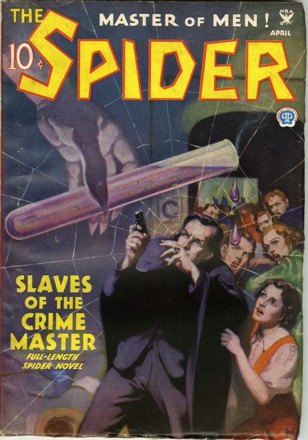 The Spider Aprl 1935