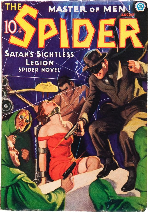 The Spider - August 1936