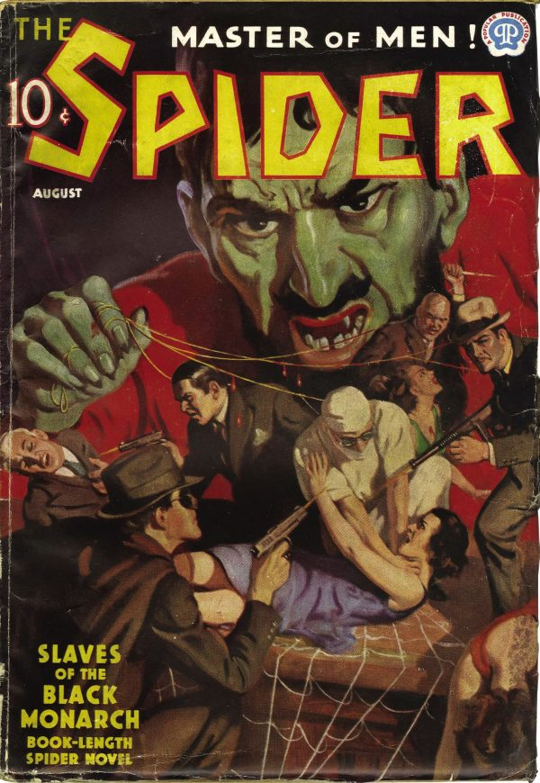 The Spider August 1937