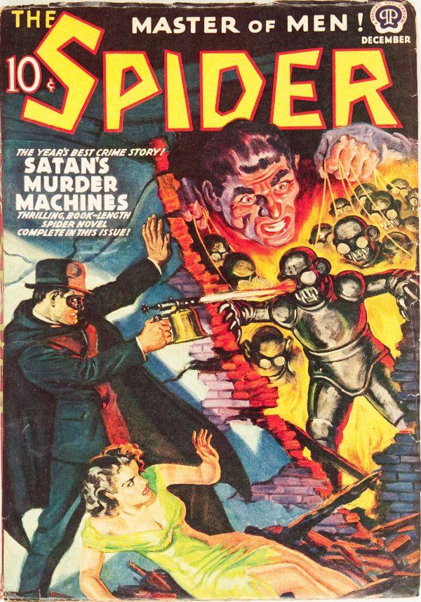 The Spider - December 1939