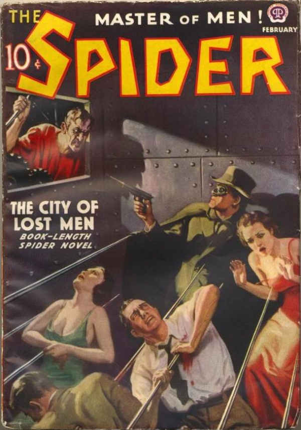 The Spider February 1938
