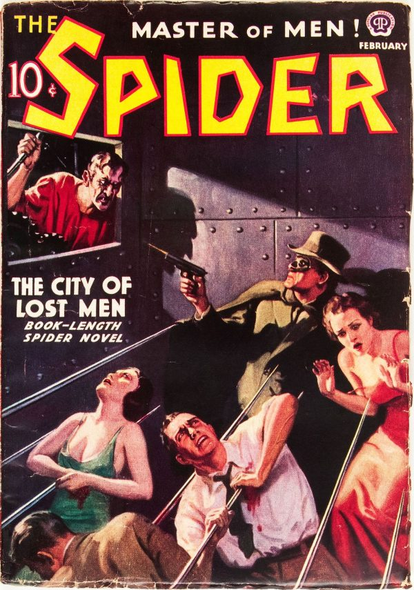 The Spider - February 1938