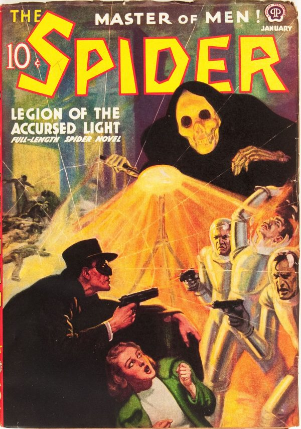 The Spider - January 1938